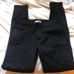 STS BLUE - black skinny jeans